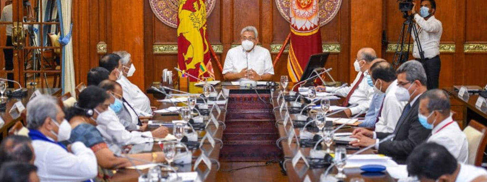 Re-start all inactive and suspended projects; President