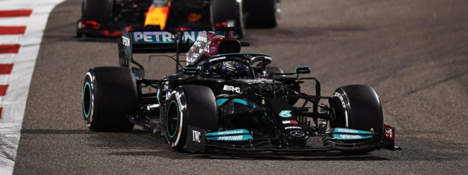 Hamilton holds off Verstappen to win thrilling season opener in Bahrain