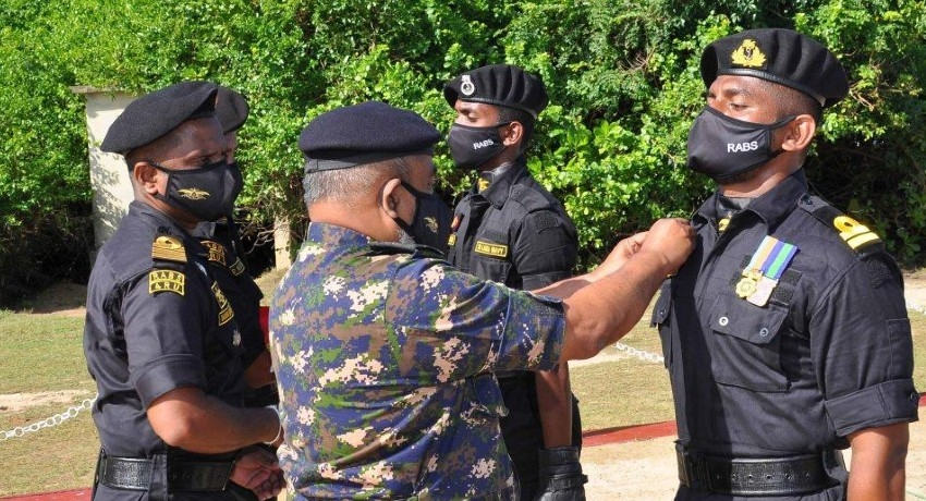 37 RABS personnel awarded insignia on completion of training