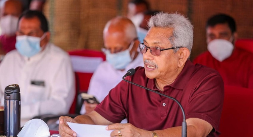 (VIDEO) 'Do not repeat the mistake of defeating Mahinda Rajapaksa' – President