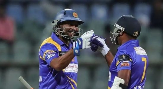 Upul Tharanga Misses Ton in SL Legends Win Over BAN Legends