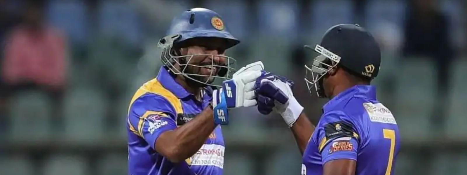 Upul Tharanga Misses Ton in SL Legends Win Over BAN Legends