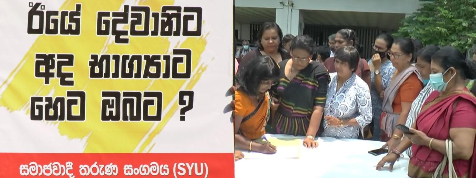 Multiple groups rally around Bhagya against harassment & deforestation