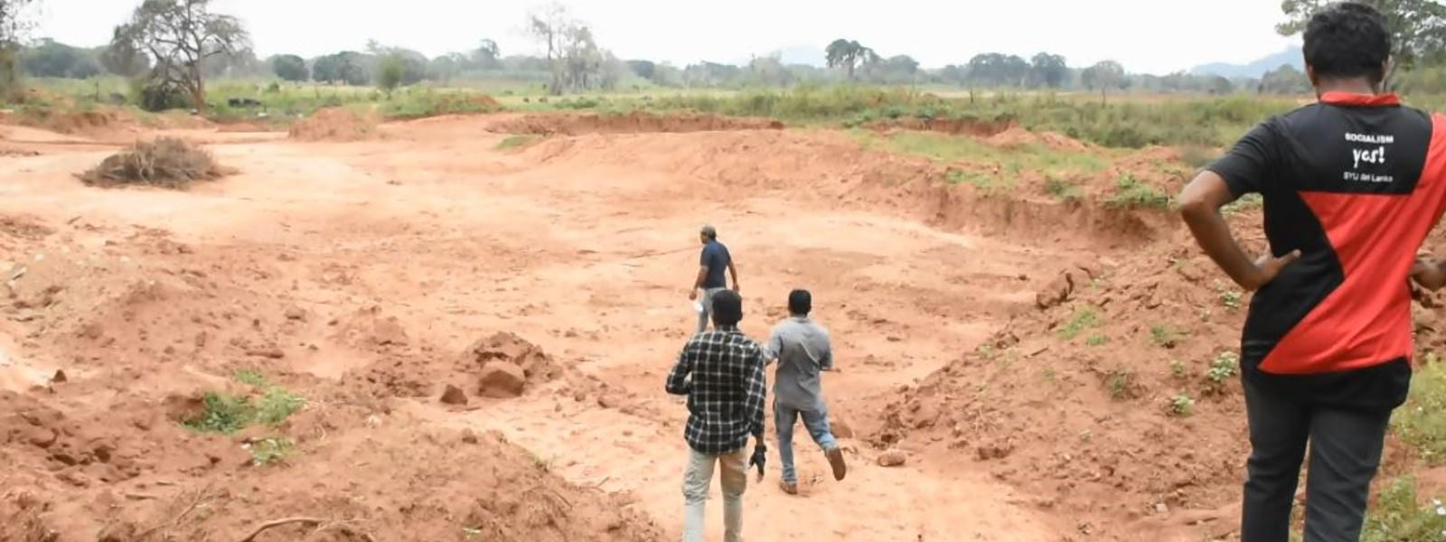 Construction within Dahaiyagala Forest?