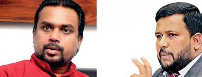 Rishad goes to CID against Wimal; challenges to prove accusations