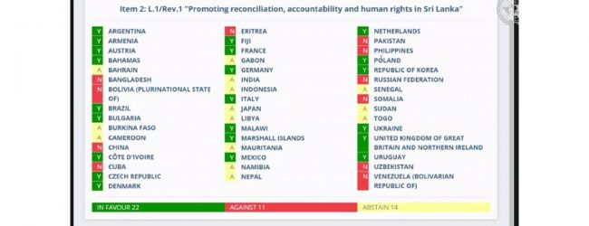 Foreign Ministers UNHRC vote theory ridiculed