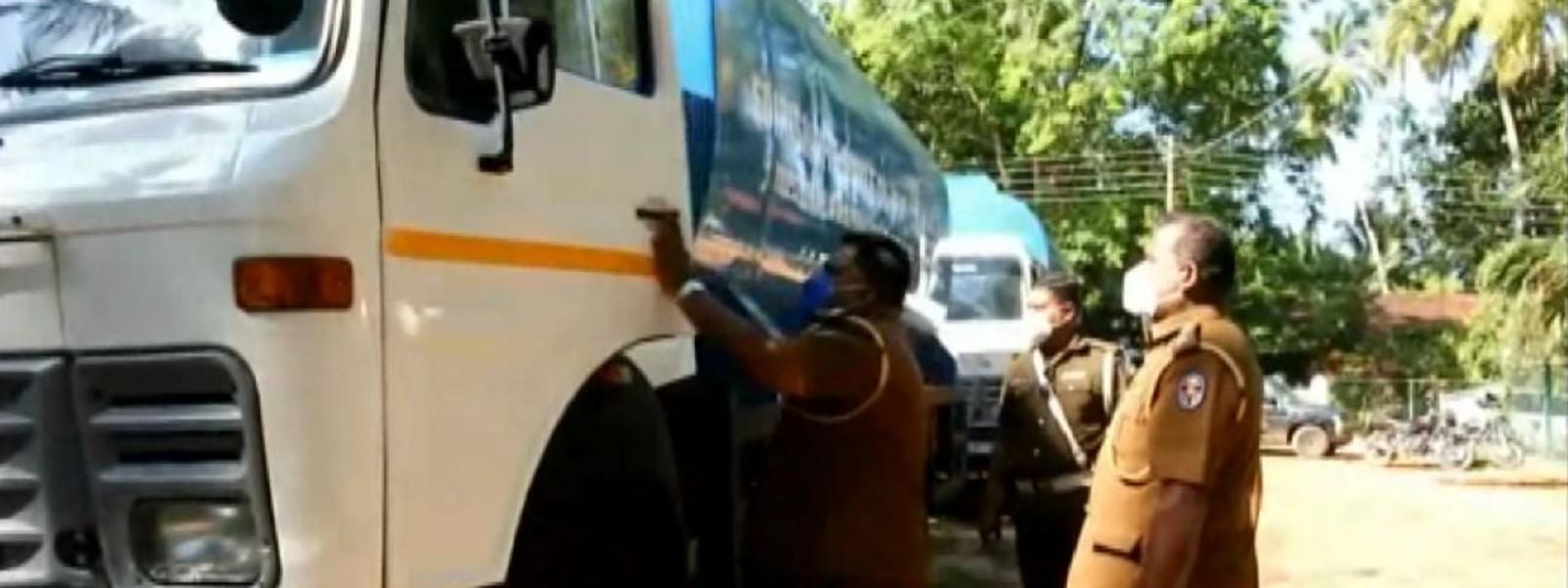 Court reprimands cops for releasing tanker trucks to customs, disregarding order