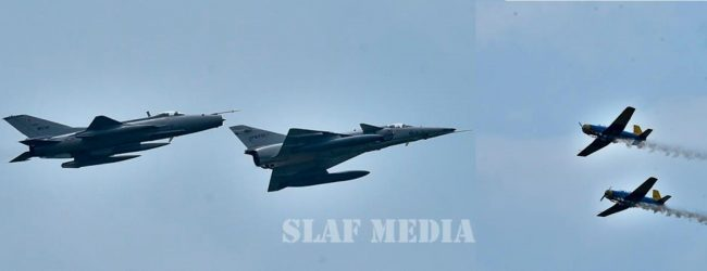 SLAF celebrates 70 years as guardians of Sri Lanka's air space
