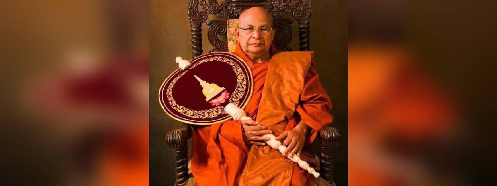 Final rites of Most. Ven. Aggamaha Panditha Kotugoda Dhammawasa Thero tomorrow (25)