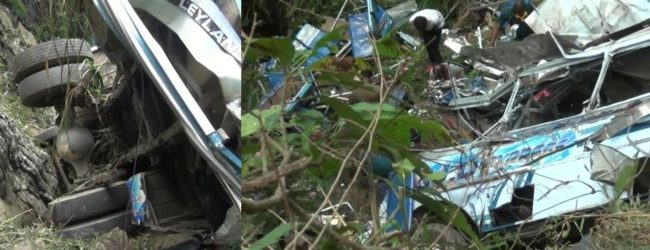 Passara Passenger Bus Tragedy : Victims identified & Tipper Truck driver arrested