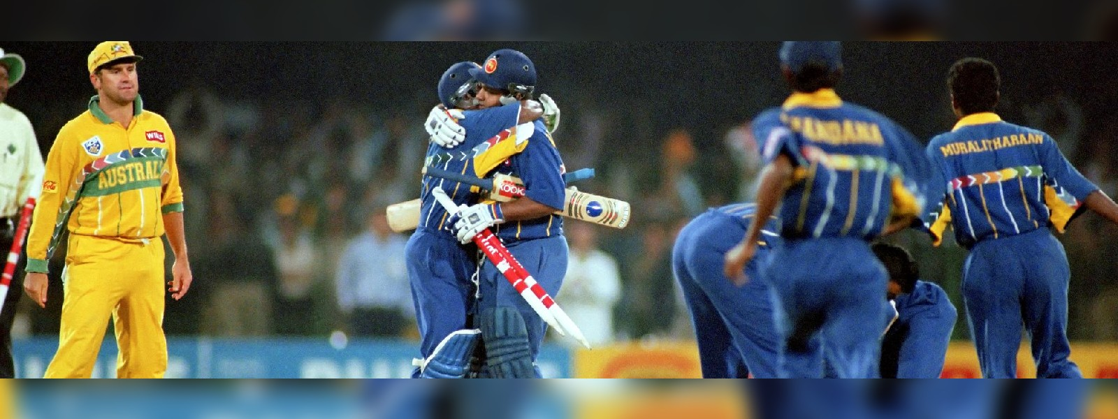 25th Anniversary of Sri Lanka's victory at the 1996 Cricket World Cup celebrated at Temple Trees