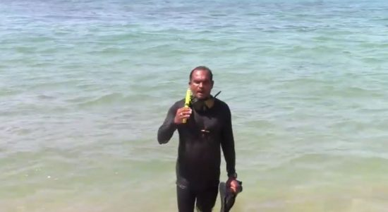 "(VIDEO) ""Sri Lanka's coral reef has turned into a grave-yard,"" – Divers Union"