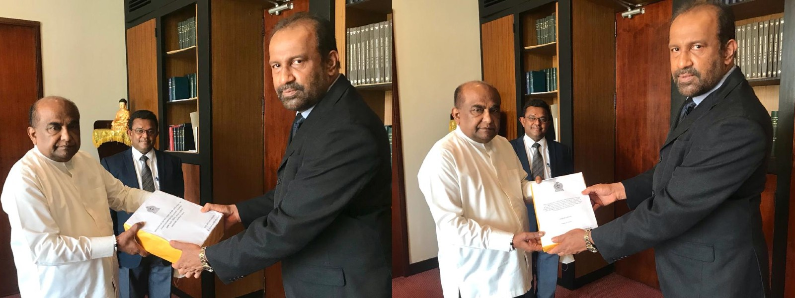 PCoI reports handed over to Speaker