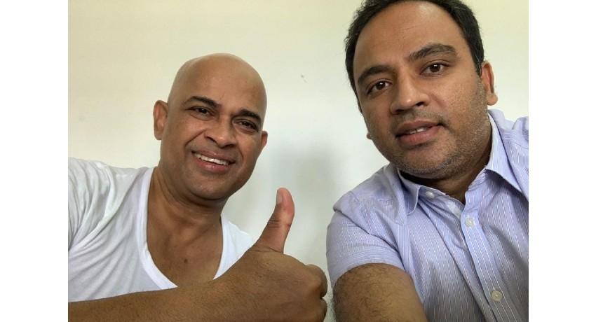 Harshana Rajakaruna's selfie with Ranjan lands jailor in hot water