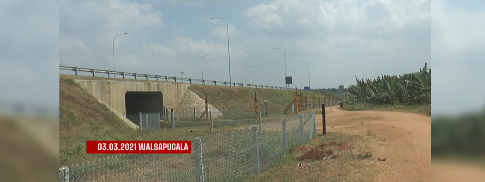 Tense situation arose in Walsapugala due to the installation of an Electric Fence