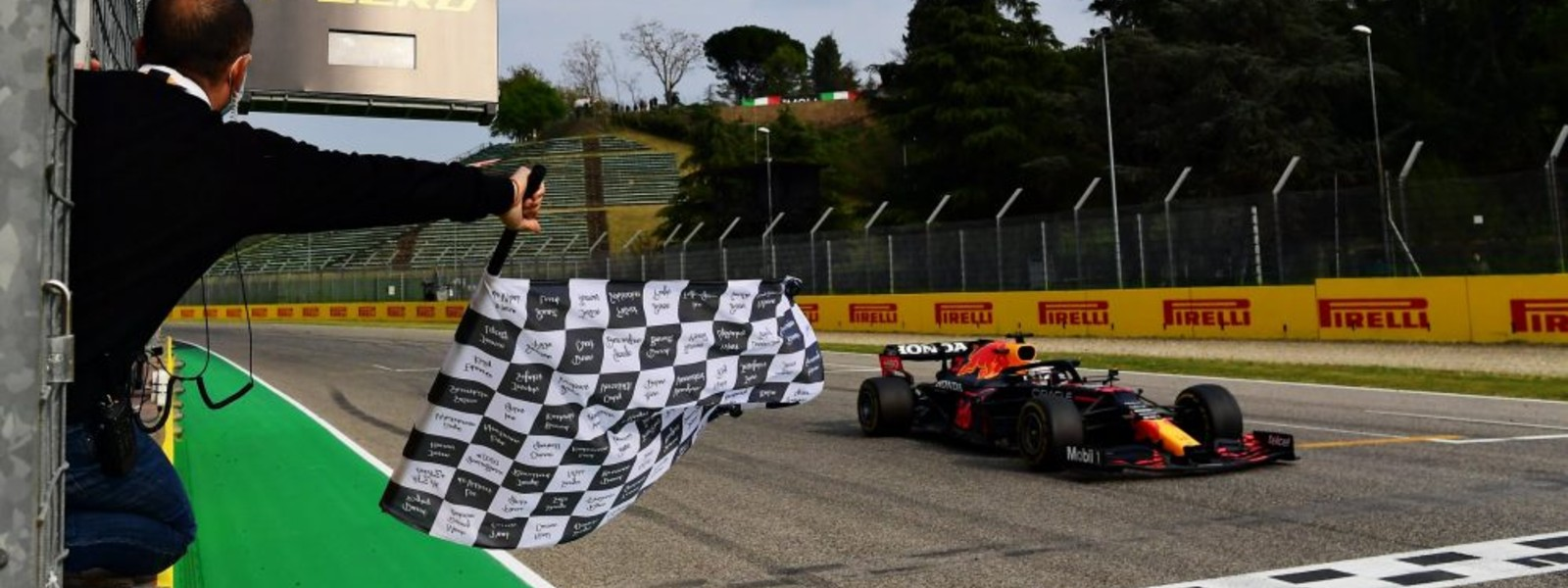 Verstappen takes victory from Hamilton in action-packed Grand Prix at Imola