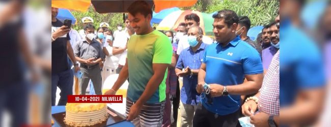 Namal turns 35; celebrations held in Matara