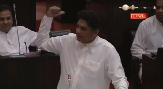 (VIDEO) Sajith confronts speaker on vacating Ranjan's seat
