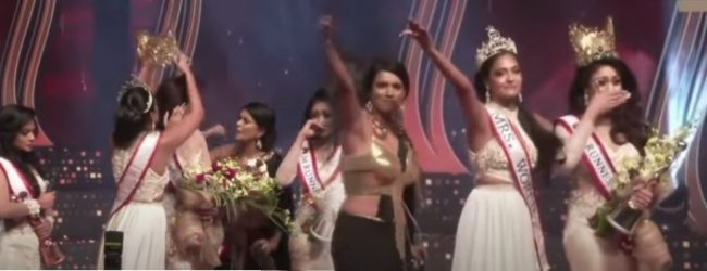 Mrs. Sri Lanka 2021 pageant ends in melee – winner stripped of crown