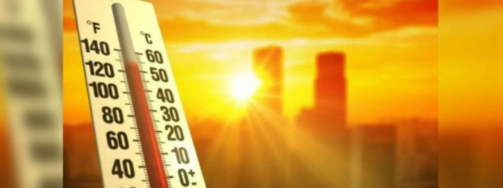 Extreme Heat conditions across 10 districts today (05)
