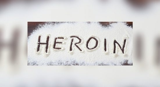 Rs. 10 Mn worth heroin found from a demolished house