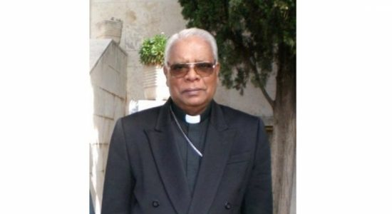 Former Bishop of Mannar Rayappu Joseph passed away