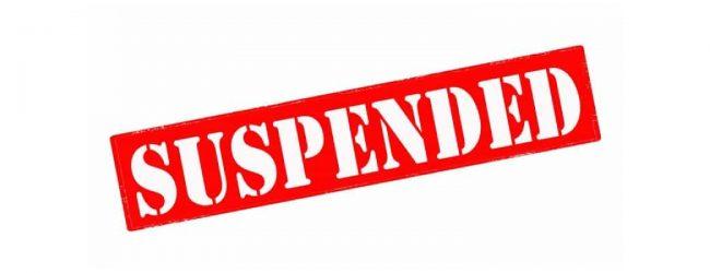 Visitation privileges for prison inmates suspended
