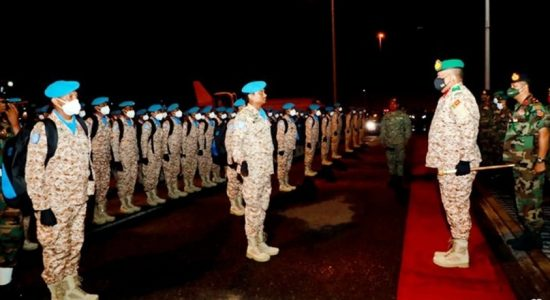 Another Army contingent leaves for Mali on peacekeeping mission