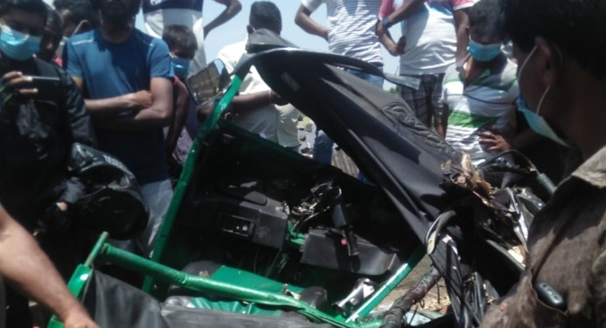 N'Eliya Tragedy: 03 dead in three-wheeler & lorry collision