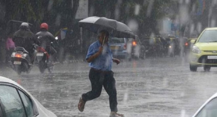 Fairly heavy rainfalls of about 50 mm likely today (27)