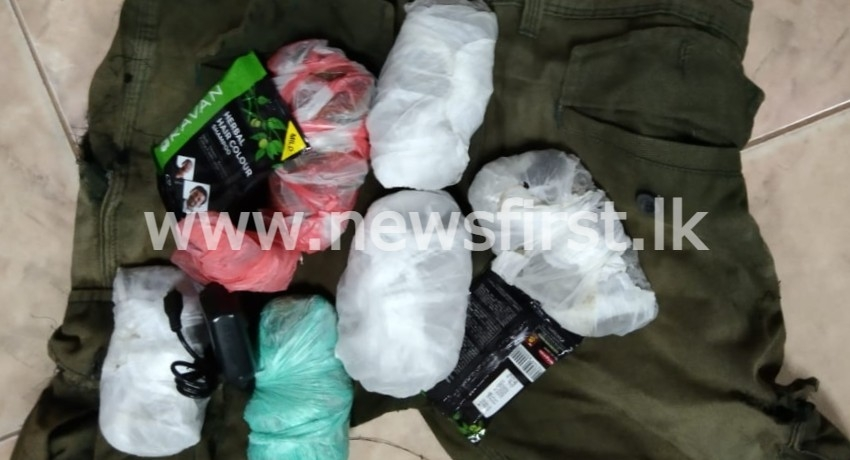 Mobile phones, chargers and heroin seized from Kalutara Prison