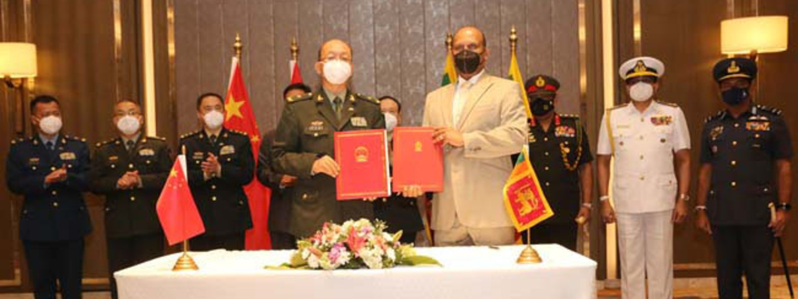 Sri Lanka & China sign Military Assistance Protocol during defence dialogue