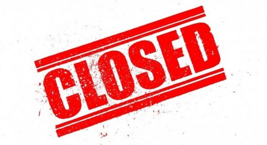 Schools in Trincomalee Education Zone closed until further notice
