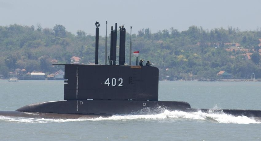 Indonesia searching for missing submarine with dozens on board