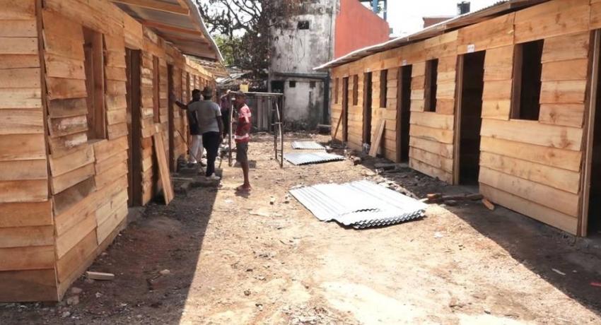 APAD rebuilds homes burnt in Grandpass