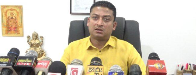 "Dilum Amunugama's ""Hitler"" remarks draw condemnation"