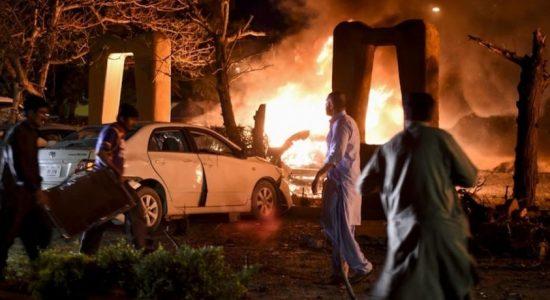 Deadly blast at Pakistan hotel hosting Chinese ambassador