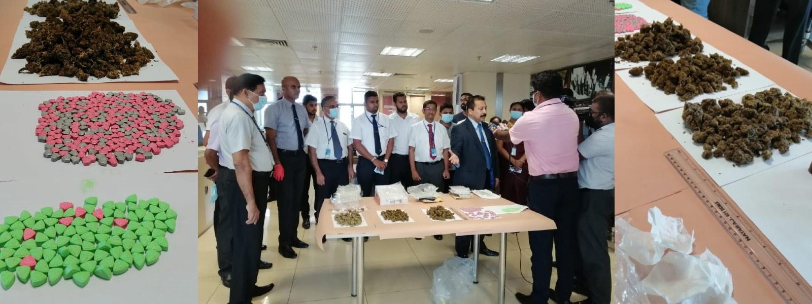 05 drug parcels seized at Central Mail Exchange