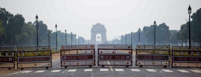 Lockdown In Delhi for one week, starting Monday (19).
