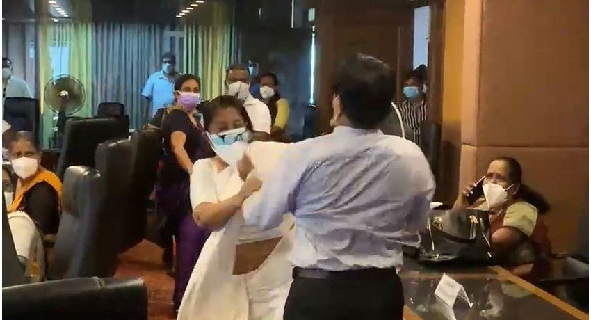 Council Member involved in Maharagama UC brawl, arrested