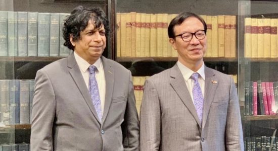 Korean Ambassador calls on Attorney General; discusses legal cooperation