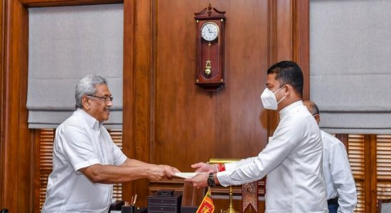 Dilum Amunugama gets new State Minister position