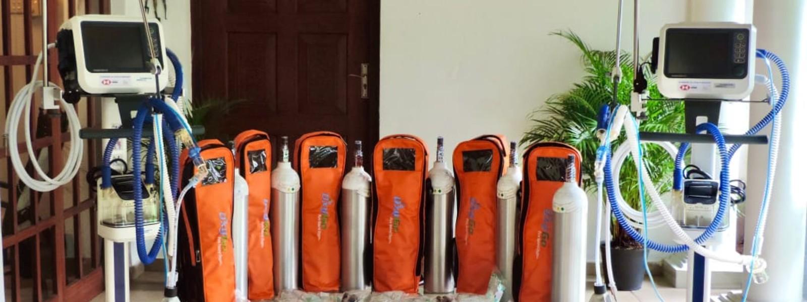 A-PAD Sri Lanka facilitates donation of Rs. 08 Mn worth medical equipment to fight COVID