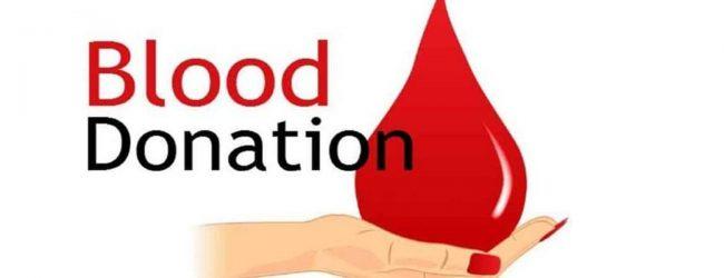 Blood stocks running low; Apeksha Hospital appeals for blood donations