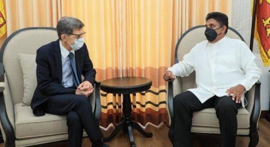 Opp. Leader meets Russian Ambassador; appeal for support against COVID