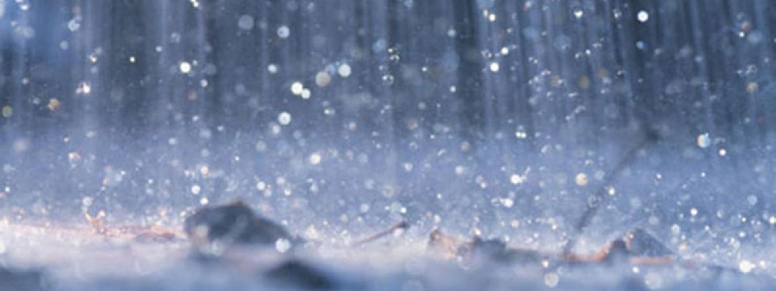Several areas to experience heavy rainfall on Thursday (06).