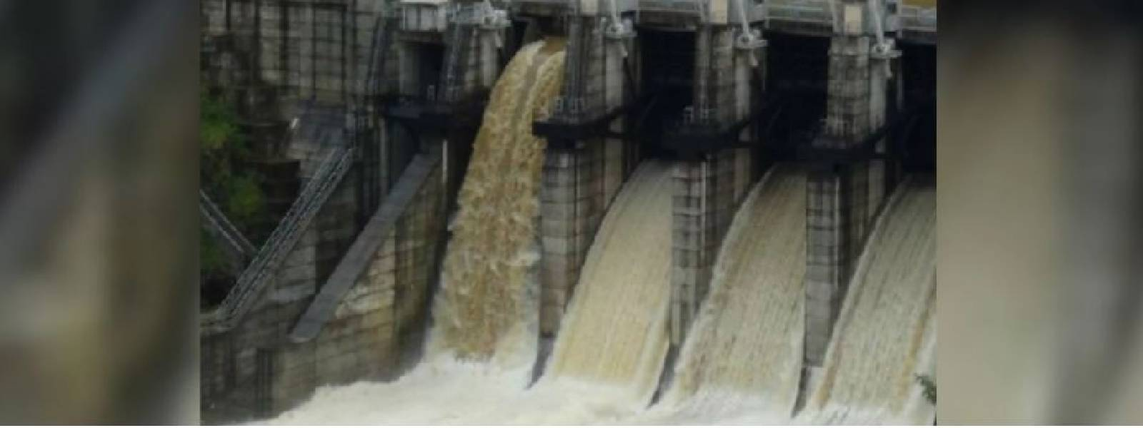 EXTREME WEATHER: Spill gates of 04 reservoirs opened