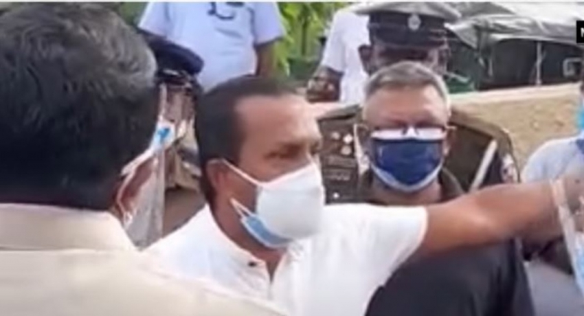(VIDEO) Moratuwa Mayor demands people with tokens issued by him to be vaccinated