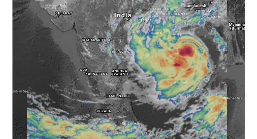 """EXTREME WEATHER: """"YAAS"""" to intensify into severe cyclone"""