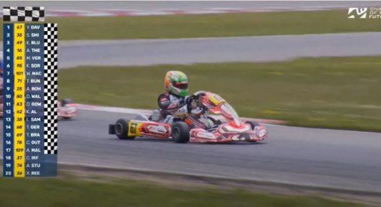 13-year-old Sri Lankan makes history with International Karting win in Belgium
